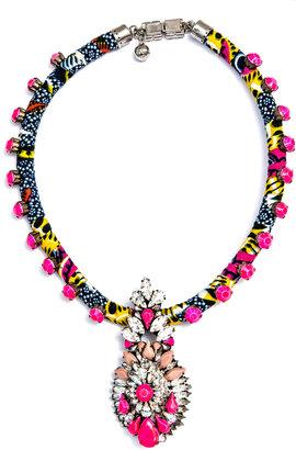 Shourouk Wax necklace