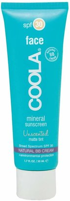 Coola R) Suncare Face Mineral Sunscreen Unscented Matte Tint Broad Spectrum SPF 30