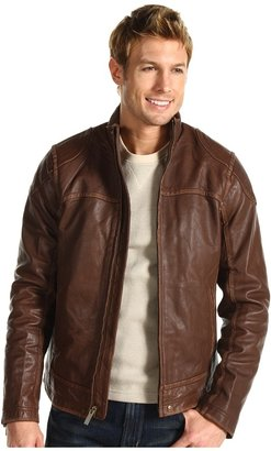 UGG Garrapata II Bombskin Leather Jacket (Black) - Apparel