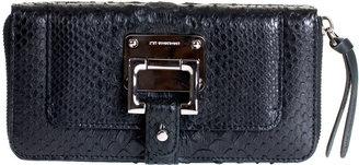 Barbara Bui Black python wallet