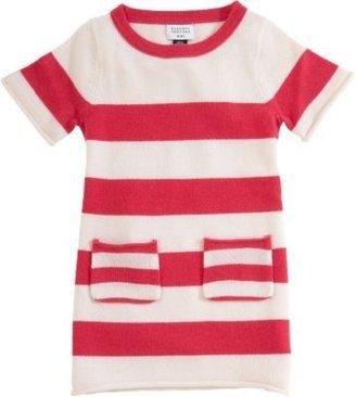 Barneys New York Short Sleeve Stripe Patch Pocket Dress