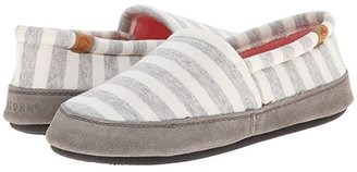 Acorn Moc Summerweight (White Stripe) Women's Slippers