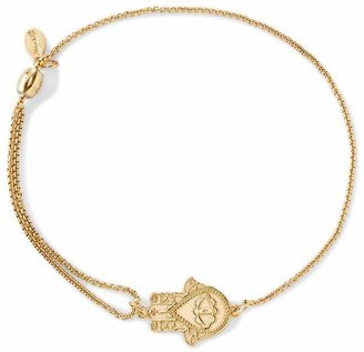 Alex and Ani Precious Metals Symbolic Hand of Fatima Pull Chain Bracelet