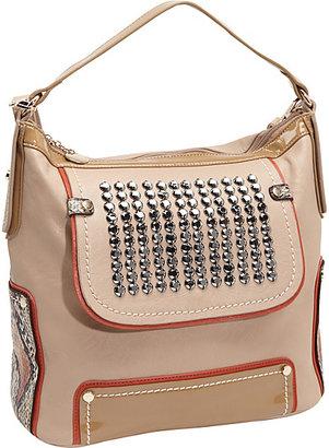 Nicole Lee Julie Glimmer Stud Shoulder Bag