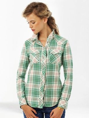 Levi's Chemise Tailored Single Point Western A carreaux