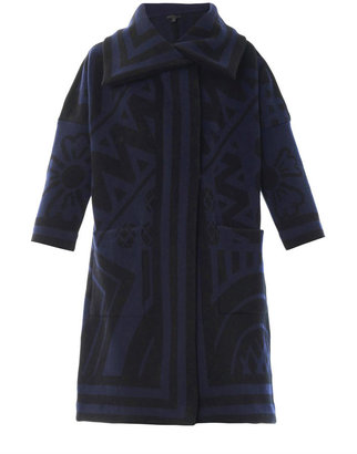 Burberry Wool and cashmere blanket coat