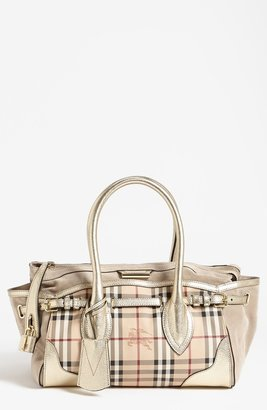 Burberry 'Haymarket Check - Medium' Tote