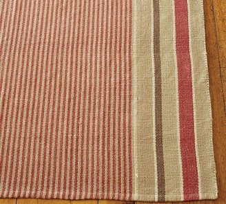 Pottery Barn French Stripe Cotton Mat