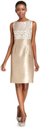 Tahari by Arthur S. Levine Sleeveless Sequin Dress