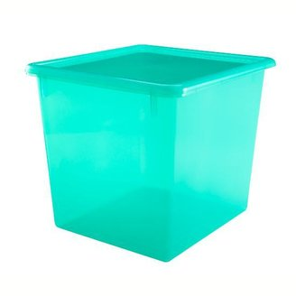 Baby Essentials Green Cube Top Box