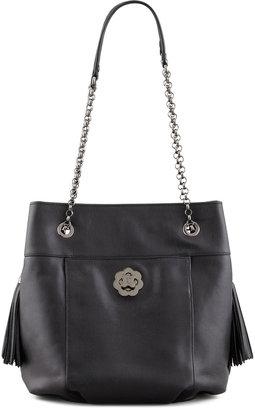 Eric Javits Tina Shoulder Bag, Black