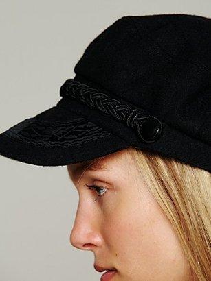 Free People Lieutenant Braided Hat