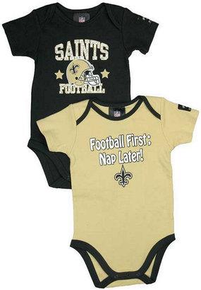 Gerber Babies' New Orleans Saints 2-Pack Bodysuit Set
