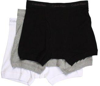 Calvin Klein Underwear Classic Boxer Brief 3-Pack U3019 (Black) - Apparel