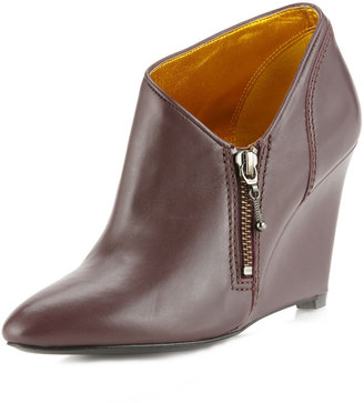 Belle by Sigerson Morrison Baby Wedge Bootie, Wine