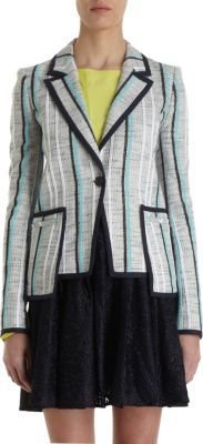 ICB Tweed Striped Blazer