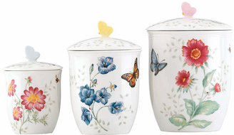 Lenox Canisters, Set of 3 Butterfly Meadow