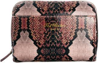 Ted Baker Snake Print Make Up Bag