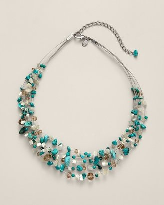 Chico's Hope Illusion Necklace