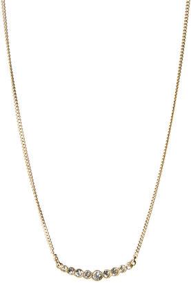 Pilgrim Jewelled Bar Necklace