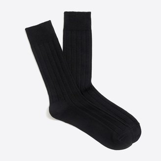 J.Crew Basic crew socks