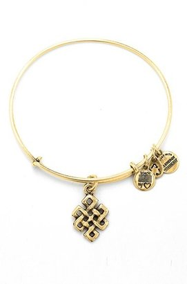 Alex and Ani 'Endless Knot' Expandable Wire Bangle