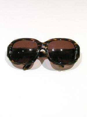 SOPHIA KOKOSALA oversized sunglasses in tortoise stripe or black