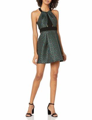 BCBGeneration Women's High Neck Dress