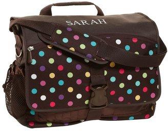 PBteen 4504 Gear-Up Coffee Dottie Messenger Bag