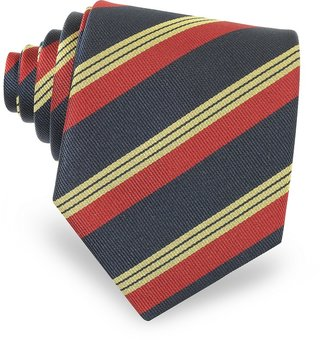 Forzieri Regimental Silk Tie
