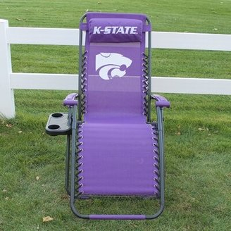 College Covers Reclining Zero Gravity Chair NCAA Team: Kansas State