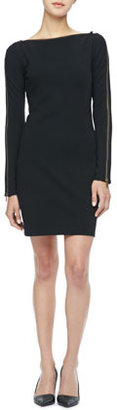 Rachel Zoe Pearson Zip-Sleeve Dress