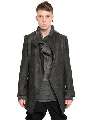 Julius Wool & Mohair Melton Jacket