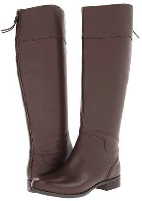 Nine West Counter-W (Dark Brown Leather) - Footwear