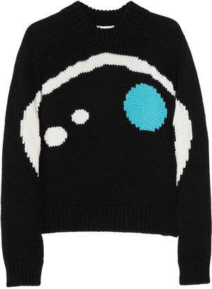 Jil Sander Intarsia cashmere sweater