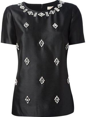 Tory Burch embellished T-shirt