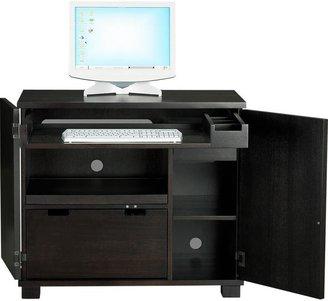 Crate & Barrel Incognito Ebony Compact Office
