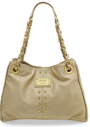 Nicole Miller nicole by Randy Studded Tote