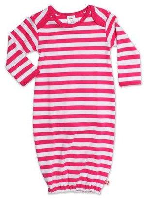 Zutano Baby-Girls Newborn Primary Stripe Gown
