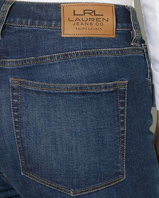 Lauren Ralph Lauren Petites Slimming Classic Straight Jeans