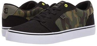 DC Anvil TX SE (Black/Camo Print) Men's Shoes