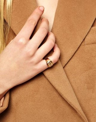 Asos Rose Gold Plated Pinky Ring