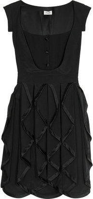 Temperley London Cleo folded drape dress