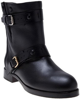 Chloé buckle strap boot