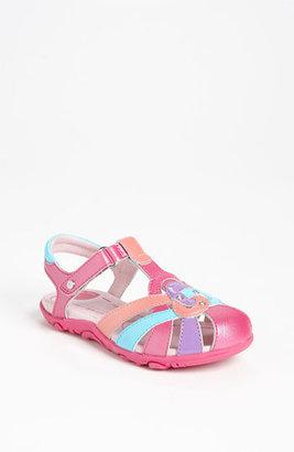 Stride Rite 'Maybelle' Sandal (Baby, Walker, Toddler & Little Kid) Fuchsia Multi 5 M