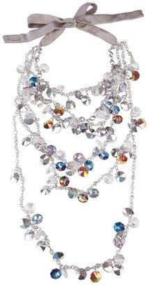 Maria Calderara multicolour glass bead necklace