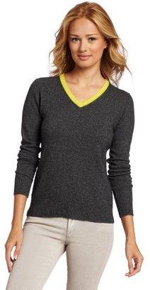 Sofie Women's 100% Cashmere V-Neck Sweater