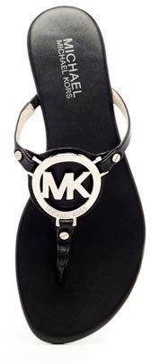 MICHAEL Michael Kors Melodie Logo Thong Sandal
