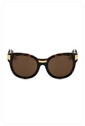 Elizabeth and James Biscayne Sunglasses in Tortoise
