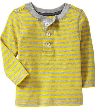 Old Navy Striped Henleys for Baby